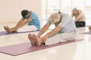 Pilates seniors photo